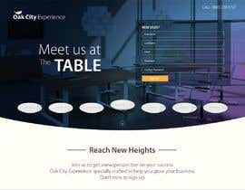 #7 para Landing Page for The Oak City Experience de syed9845390699