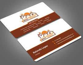 #61 para Design some Business Cards For Construction Design Company de Nabila114