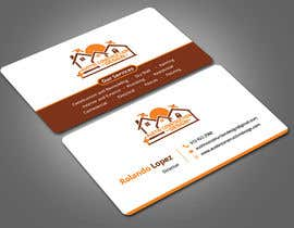 #62 para Design some Business Cards For Construction Design Company de Nabila114