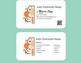 #77 para Design some Business Cards For Construction Design Company de hsafayet2018