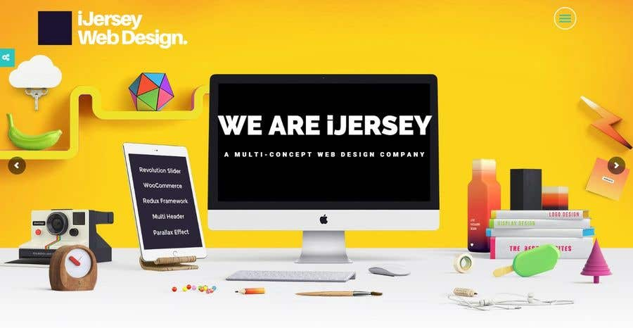 Entry #20 by whiteknight for Create a Web Design WordPress Template