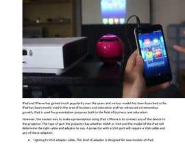 "#5 para Write an article titled ""How To Connect Your iPhone Or iPad To A Projector"" por supersystemng"