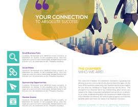 Nro 42 kilpailuun LE Chamber Brochure käyttäjältä GetMeHire