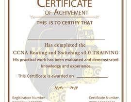 #48 for Training Certificate Design af DhanvirArt