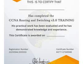#59 for Training Certificate Design af DhanvirArt