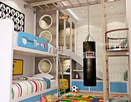 #13 untuk Interior design - Kids bedroom/playroom oleh faisolfuady