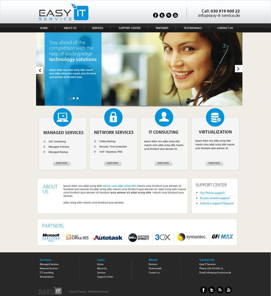 Bài tham dự cuộc thi #                                        3                                      cho                                         Redesign Computer Repair Webseite