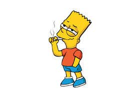 #7 for Create Cartoon Characters Smoking Weed af ibrahimkaldk