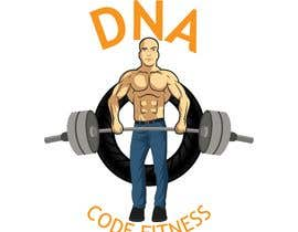 "#24 , Logo for ""DNA Code Fitness"". A masculine fitness line. The attached photo provides you with the kind of character we are looking for. Logo should include DNA imagery. Will need an image for social media use and one optimized for printing on clothing. 来自 lue23"