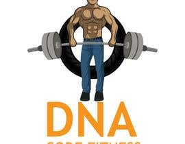 "#28 , Logo for ""DNA Code Fitness"". A masculine fitness line. The attached photo provides you with the kind of character we are looking for. Logo should include DNA imagery. Will need an image for social media use and one optimized for printing on clothing. 来自 lue23"