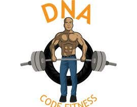 "#29 , Logo for ""DNA Code Fitness"". A masculine fitness line. The attached photo provides you with the kind of character we are looking for. Logo should include DNA imagery. Will need an image for social media use and one optimized for printing on clothing. 来自 lue23"