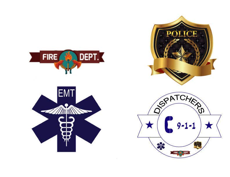 Bài tham dự cuộc thi #4 cho Vector Art for First Responder Professions (Fire, EMS, Police, 911 Dispatchers)