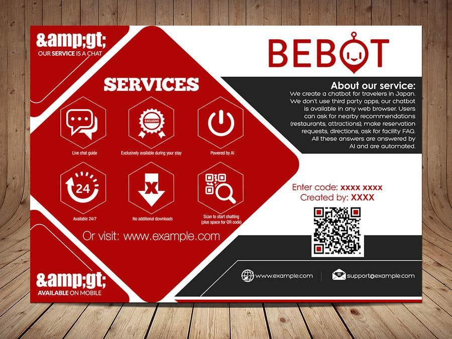 Proposition n°43 du concours Design a simple & informative flyer (print)