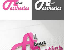 #73 para Logo Design for All About Aesthetics por Opacity