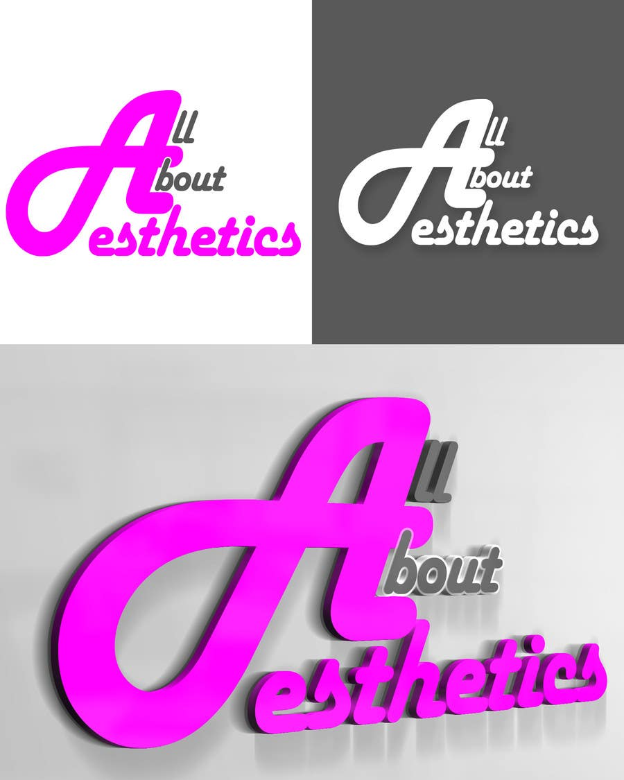 Contest Entry #77 for Logo Design for All About Aesthetics
