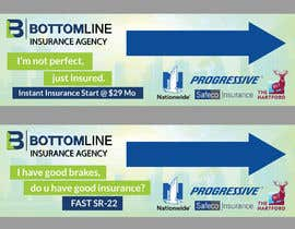 #11 para Design Banner for Insurance agency ( Publisher format ) por SmartBlackRose