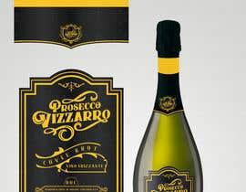 #10 for Design a Prosecco label with matching bottle foil label af deyali
