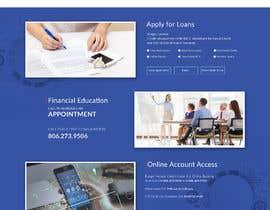 #24 untuk Design a Website Mockup for Credit Union (bank) oleh saidesigner87