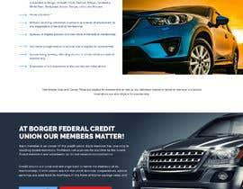 Nro 32 kilpailuun Design a Website Mockup for Credit Union (bank) käyttäjältä saidesigner87