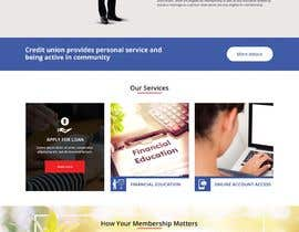 Nro 35 kilpailuun Design a Website Mockup for Credit Union (bank) käyttäjältä satishandsurabhi