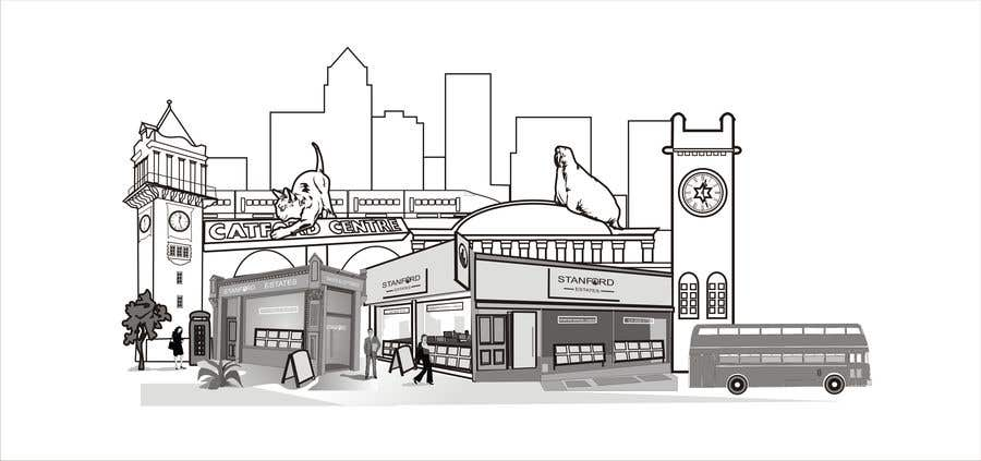 Contest Entry #17 for Illustrate our local landmarks and offices