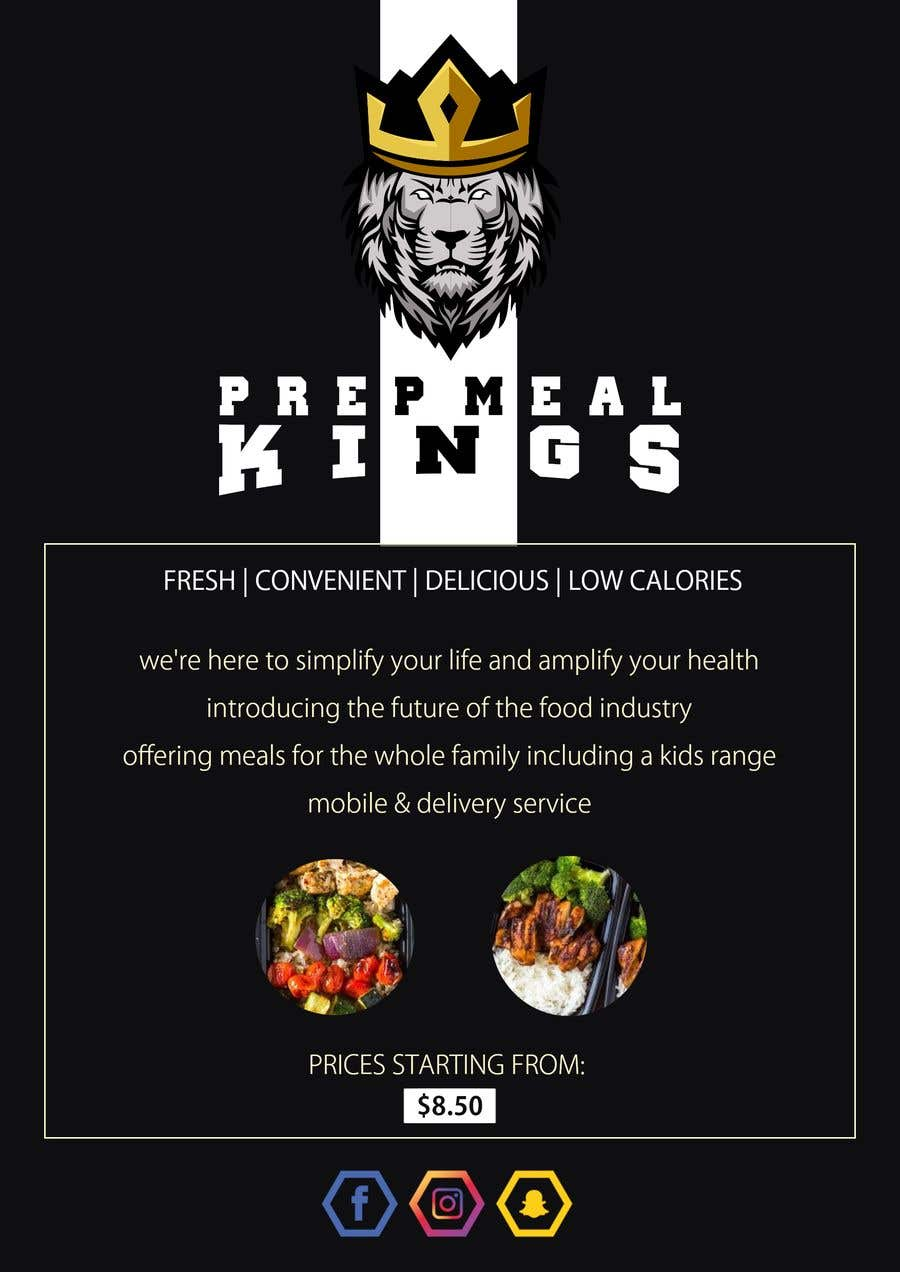 Contest Entry #7 for Prep Meals Flyer