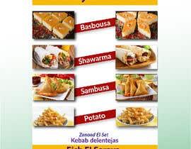 Nro 64 kilpailuun Design a Flyer (Food Menu) käyttäjältä mohashin85