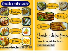 #71 for Design a Flyer (Food Menu) by sumona018