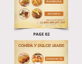 Nro 42 kilpailuun Design a Flyer (Food Menu) käyttäjältä bdKingSquad