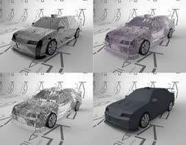 #13 for Design a low poly 3D model of car by KorvinPride