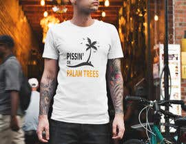 "#7 for Create ""Pissin' on Palm Trees"" Dog Shirt design by Graphicworldbd"