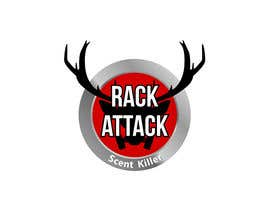 wilsonomarochoa tarafından I need a logo designed for  deer hunting scent killer.  The name of the scent killer is Rack Attack.  We need something eye catching to put on a label. için no 25