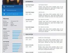 #7 dla Resume templates przez jhosser