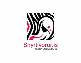 #155 cho Logo Design for Snyrtivorur.is (and Zebra Cosmetique) bởi ImArtist