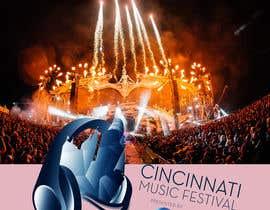 #110 cho Cincinnati Music Festival Backdrop bởi kbchoudhary76