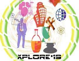 #23 Build a logo for the National Level Techno-Managerial-Cultural Festival, Xplore'19 részére deepak1102091 által