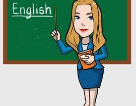 #11 para Design this girl as a teacher cartoon character. por kimcarreon