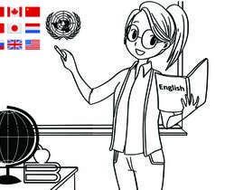 #19 para Design this girl as a teacher cartoon character. por wurfel