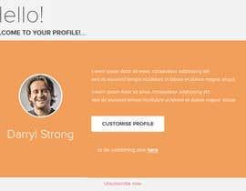 nº 12 pour Make a HTML email template par sharmavn889