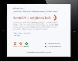 nº 17 pour Make a HTML email template par syrwebdevelopmen