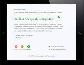 nº 18 pour Make a HTML email template par syrwebdevelopmen
