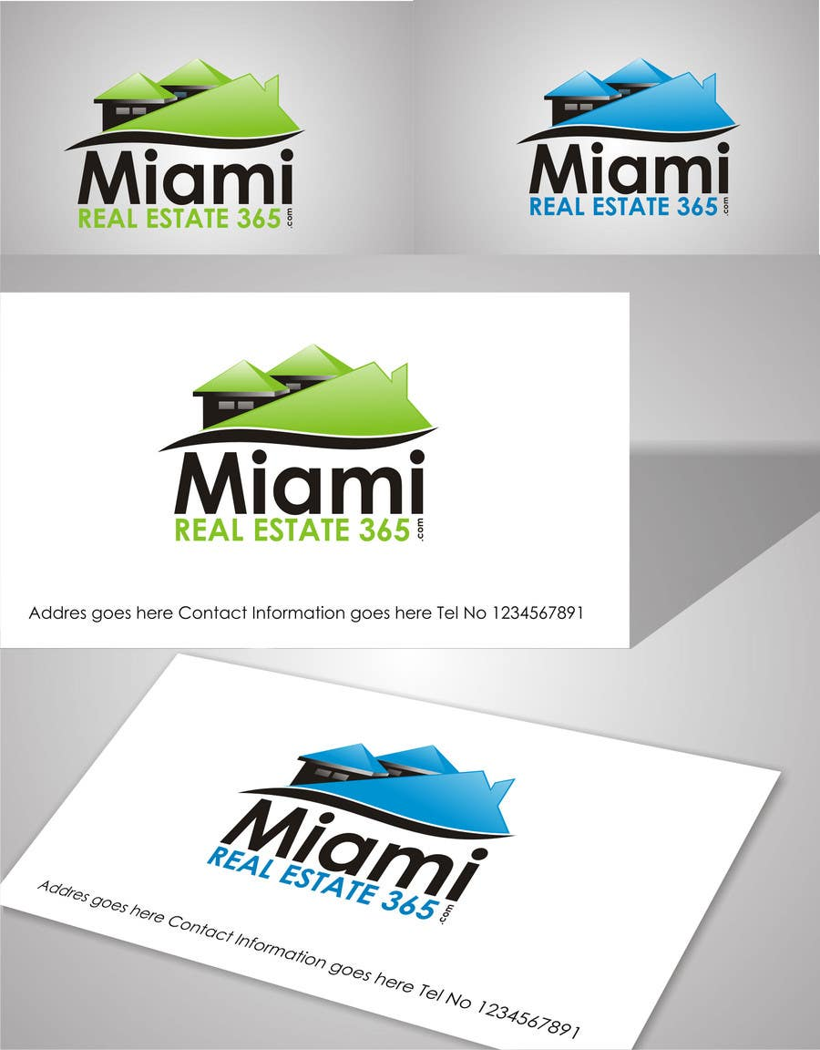 #268 for Logo Design for Miami Real Estate Website by ezra66