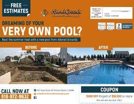 #6 for Design an advertisement for pool business 2 by antolocco90