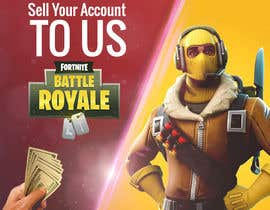 #17 dla Design multiple advertisements for Fortnite Instagram account. przez MarinaAtef96