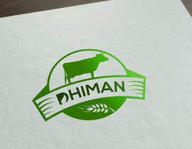 #44 para Design a Logo for Dhiman cattle feed with word Dhiman por Asifrbraj