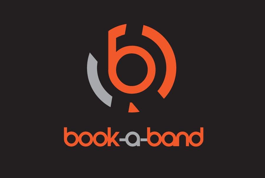 "Intrarea #151 pentru concursul ""Logo Design for book-a-band.be"""