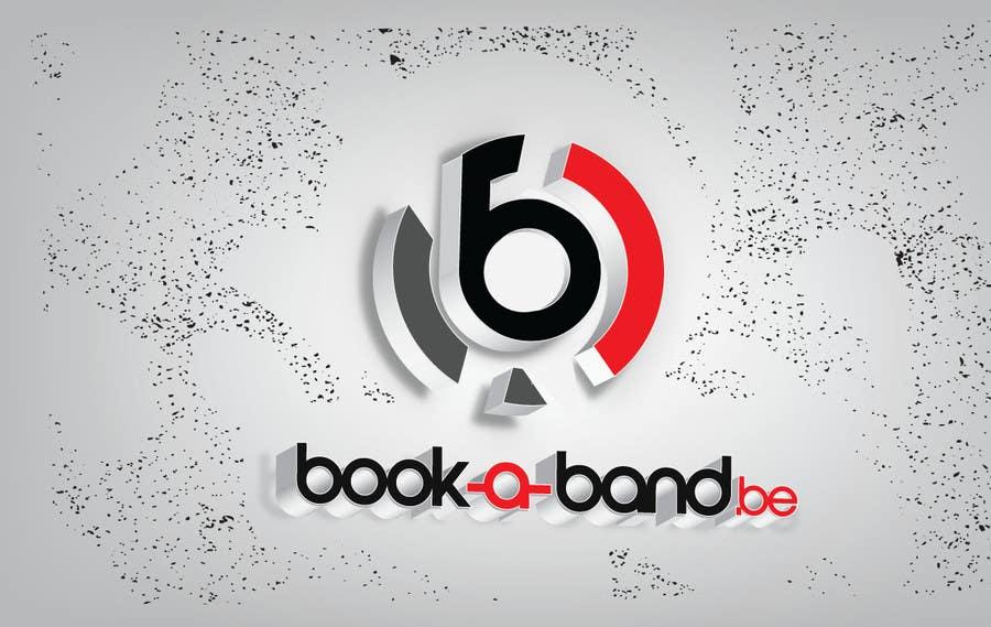 "Intrarea #295 pentru concursul ""Logo Design for book-a-band.be"""
