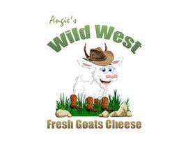 #28 สำหรับ Angies Wild West Goats Cheese. โดย MoamenAhmedAshra