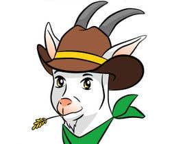 #17 สำหรับ Angies Wild West Goats Cheese. โดย BryonyJames