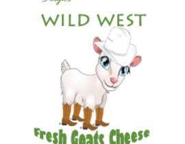 #1 สำหรับ Angies Wild West Goats Cheese. โดย webdesignerul